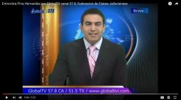 La Federacion anuncia la Semana Jalisco en GLOBAL TIVI